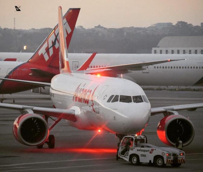 A320 em Guarulhos