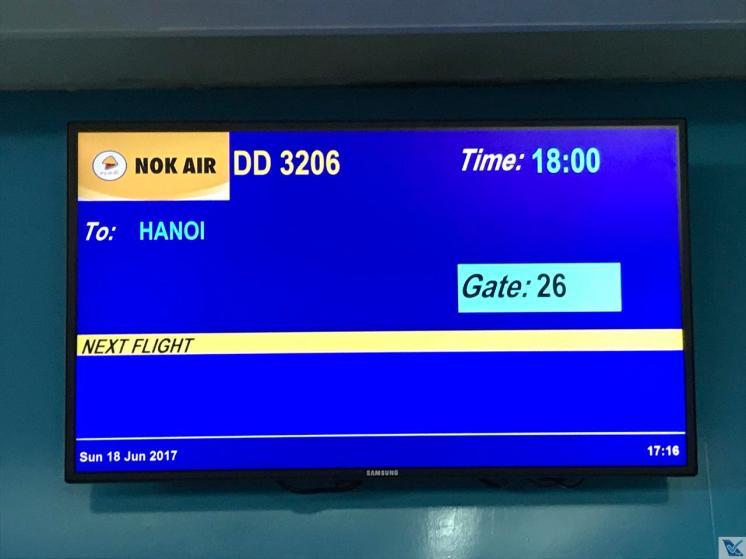 Painel - Portão 26 - DMK - Nok Air