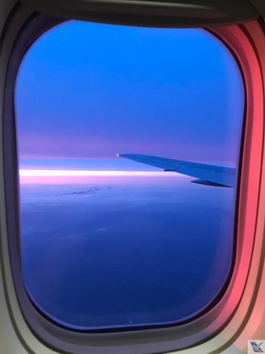 Por do Sol - Janela B767 - JAL 2