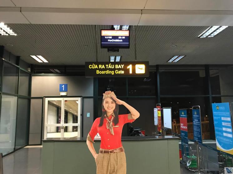 Portão 1 - Hanoi - Vietjet Air
