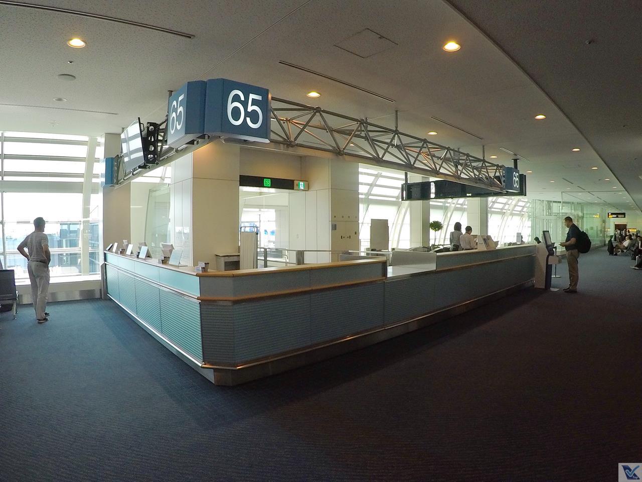 Portão 65 - Embarque ANA - Haneda 5