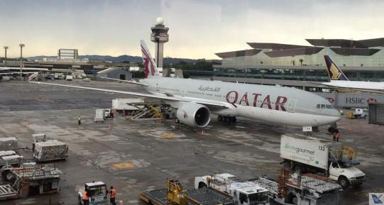 Qatar - B777 - GRU 2