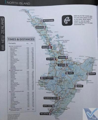 Revista Kiaora - ANZ Mapa de Rotas 1