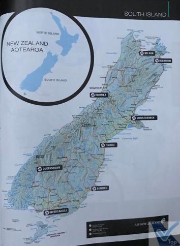 Revista Kiaora - ANZ Mapa de Rotas 2