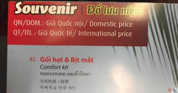 Souvenir - Revista de Bordo - VietJet Air