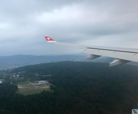 Aproximação ZRH - A330 Swiss
