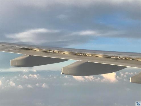 Asa A330 - Swiss - Nuvens (3)