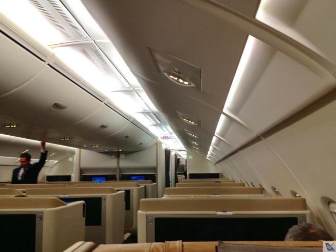 Inside - A380 - Singapore (2)