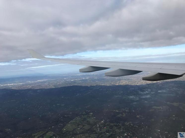 Janela - A330 - Qantas SYD - MEL (7)