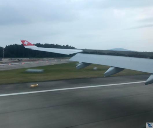 Pouso - A330 - Swiss (1)