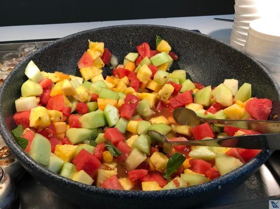 Sala VIP - Quantas - Salada Frutas