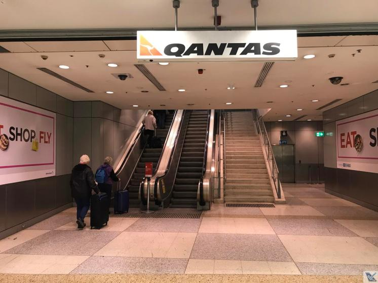 Trem - Aeroporto Sydney - Qantas