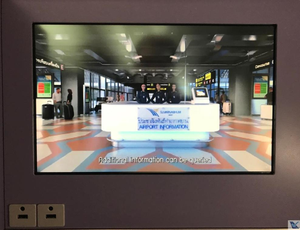 Vídeo - Instruções chegada BKK - Thai
