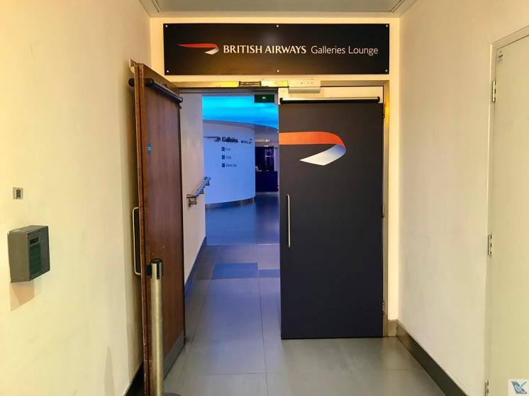 Entrada - Sala VIP - British LHR (1)