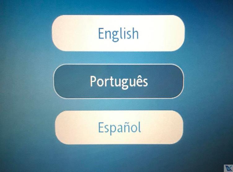 IFE - A330 TAP - Business - Línguas
