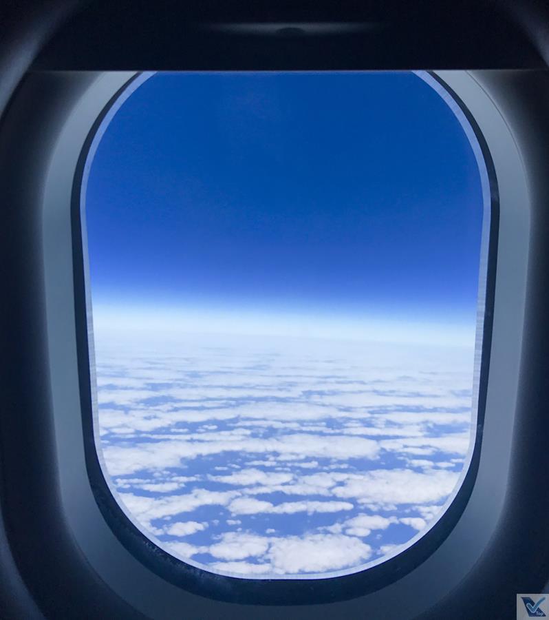 Janela - Céu Azul - A330 - TAP - REC LIS