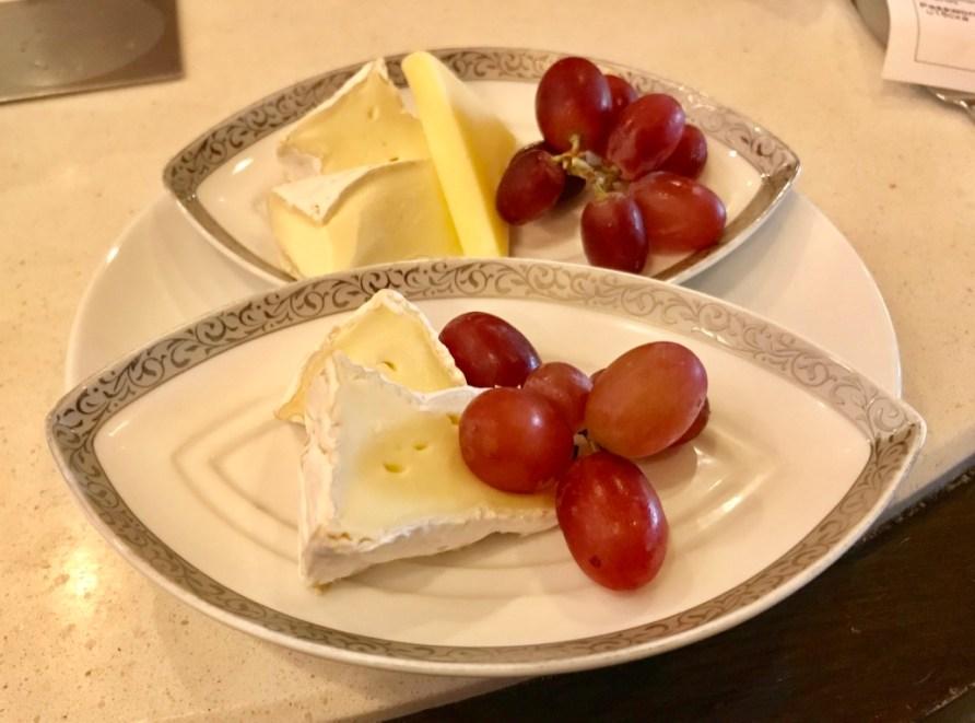 Prato - Sala Vip - Thai - Uva e Queijo