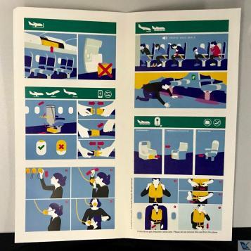 Cartão - Instruções Segurança - B787 AF (2)