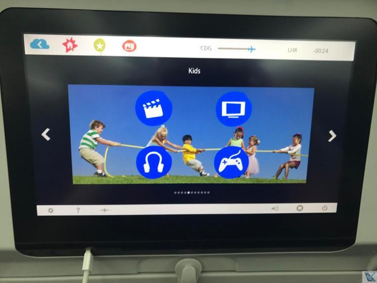 IFE - B787 - Air France - Kids