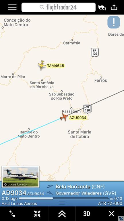 Flight Radar - CNF GVR (3)