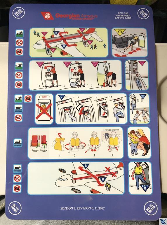 Cartão - Instruções Segurança - Georgian Air (2)