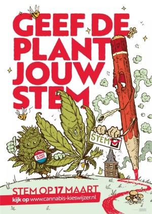 Verkiezingen 2021: 'Geef de plant jouw stem'