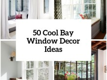 Bay Window Decoration Ideas