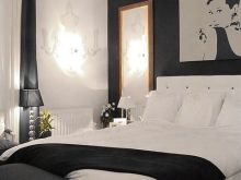 black and white bedroom decor ideas
