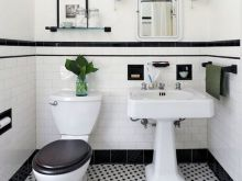vintage black and white bathroom ideas