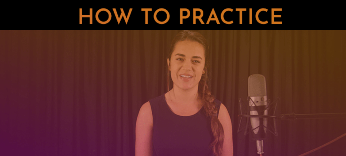 how to practice. 30 day singer