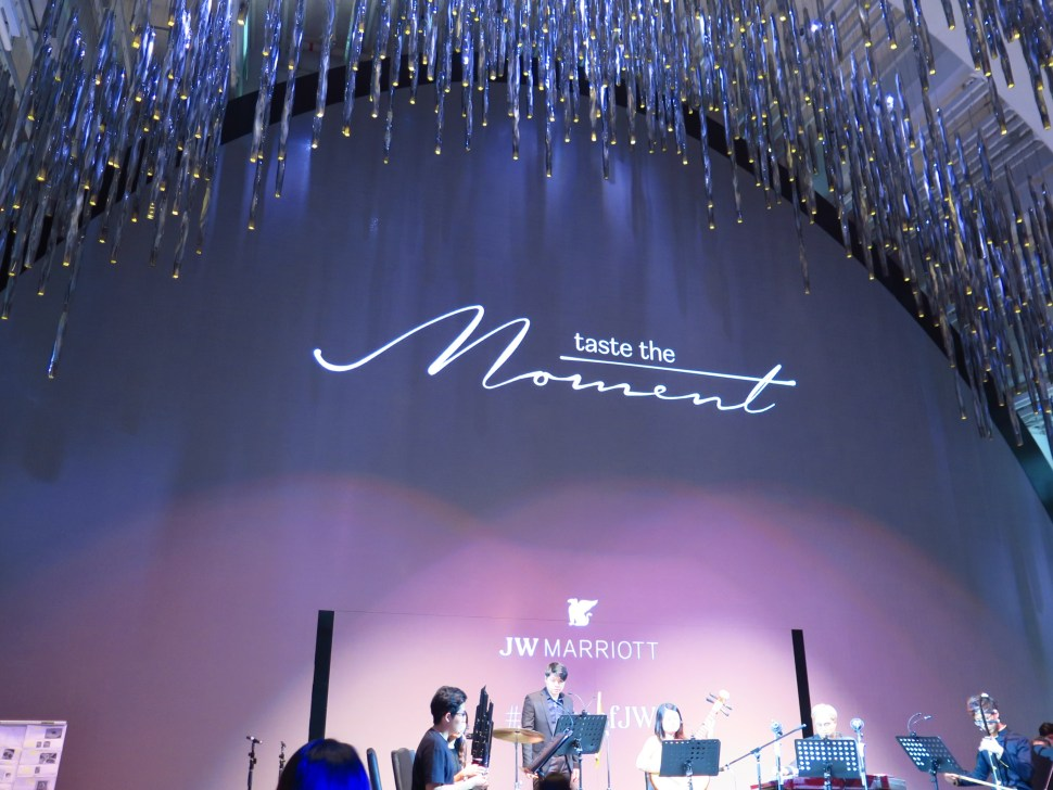 JW Marriott Taste the Moment_Vocalise