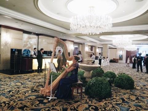 Jana at Shang foyer