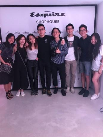 Esquire Shophouse 2 pop musicians
