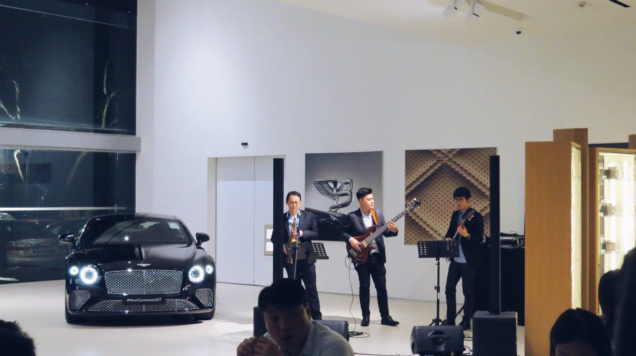Wine, Jazz, and Luxury for Bentley