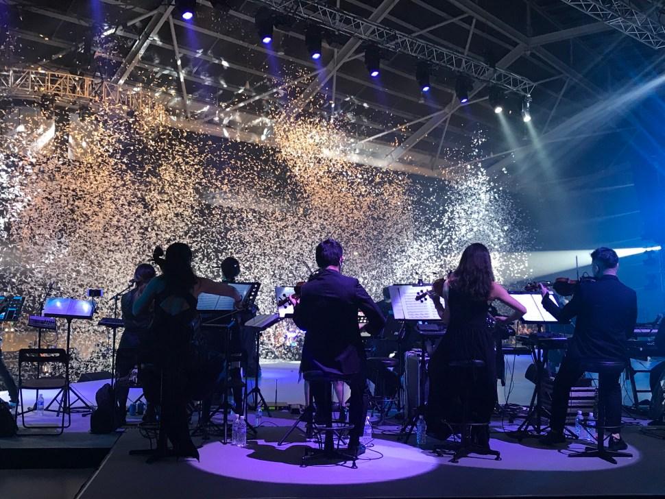 Vocalise String Quartet at Angela Zhang Concert