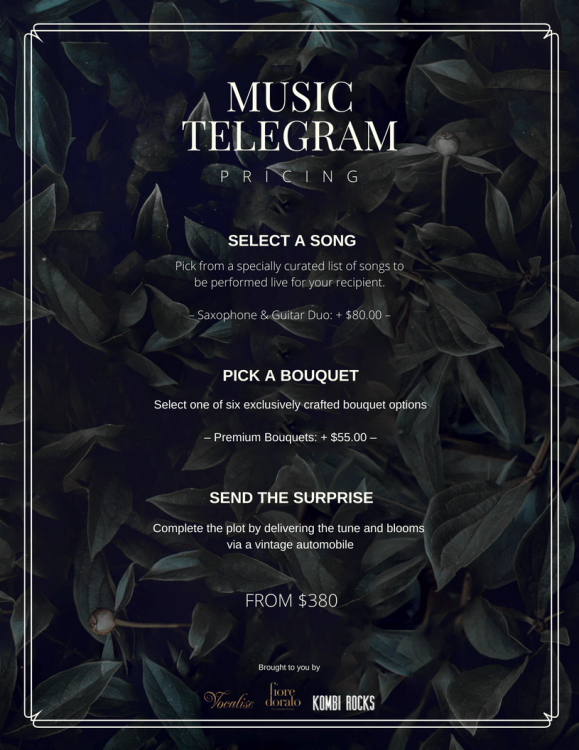 Music Telegram Pricing -