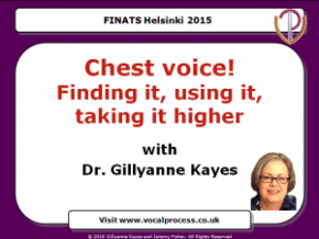 Gillyanne's presentation for FINATS in Finland