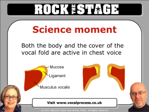 What happens in chest voice - a voice science explanation moment from Vocal Process