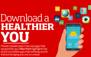 Download a healthier you - image from the Computeractive magazine article that featured our One Minute Voice Warmup app