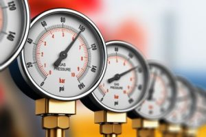Breathing pressure gauges