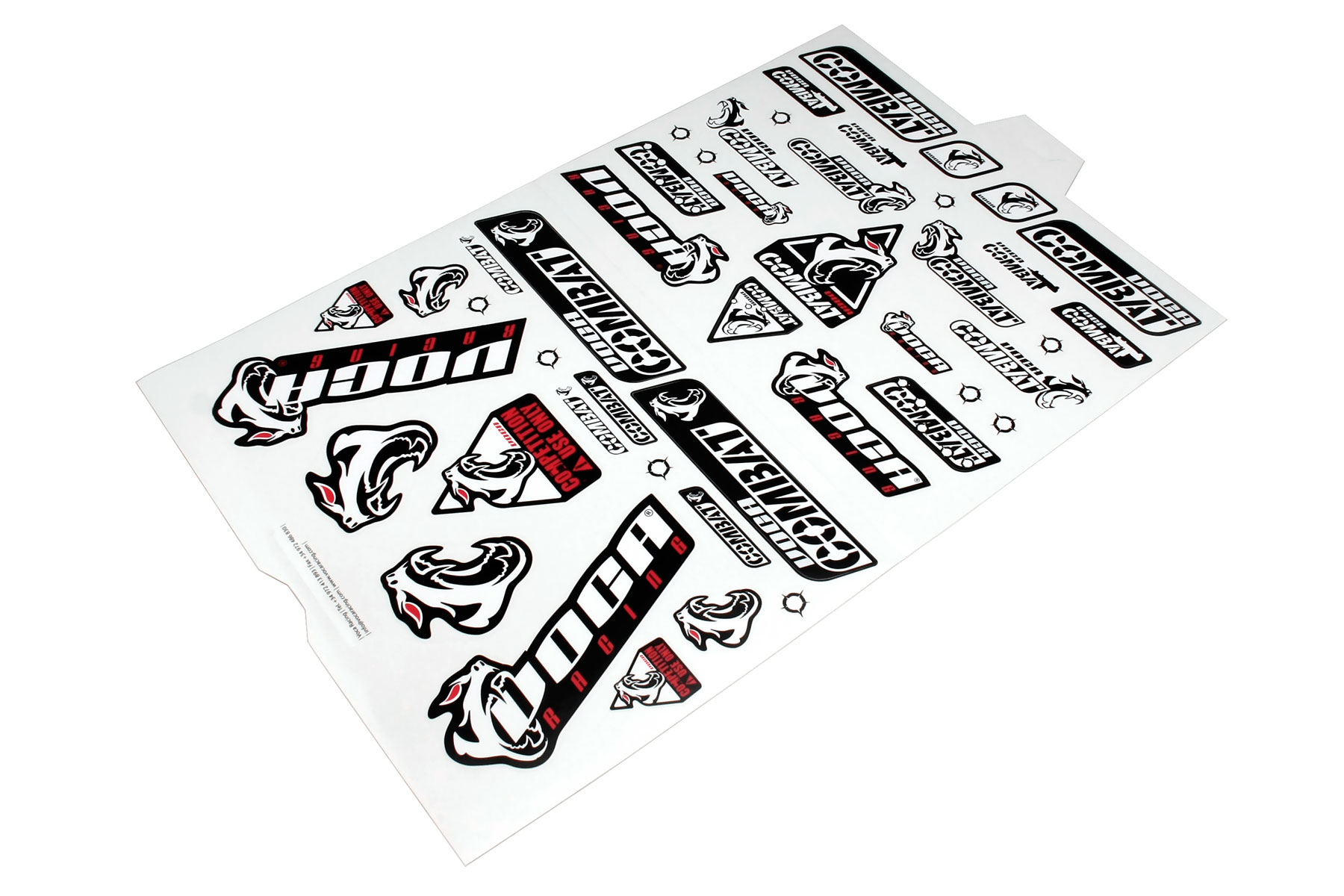 Sticker Set Voca Racing Includes Stickers For Left And