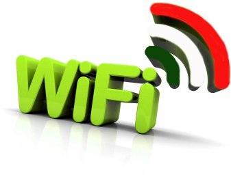 Il wireless free nel nostro paese è attivo dal 1° gennaio di quest'anno