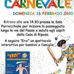 Carnevale a Clauzetto Domenica 16 febbraio 2020