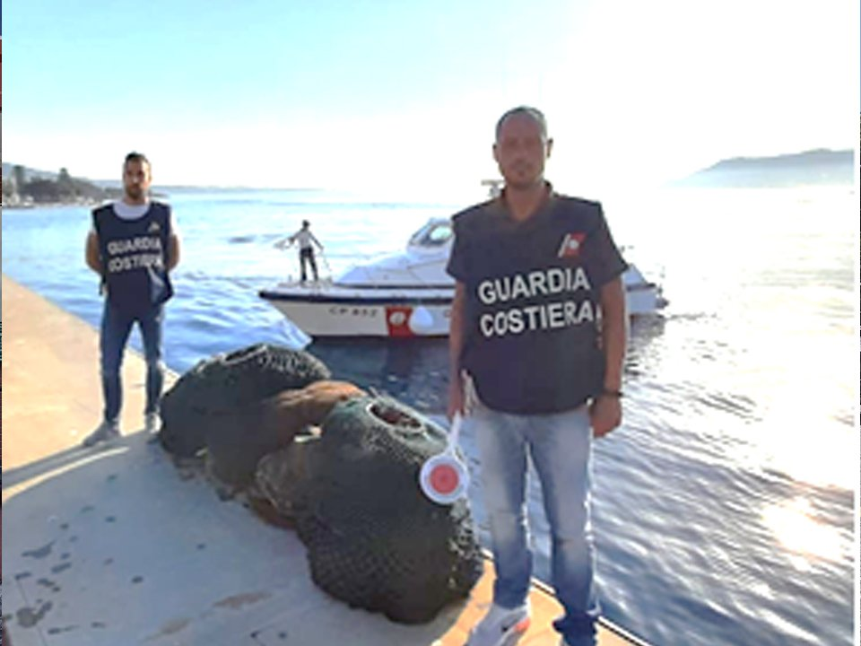 guardia costiera sequestro ricci di mare