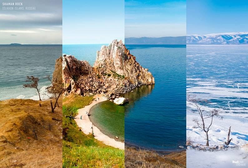 Shaman Rock (Ilha Olkhon, Rússia)