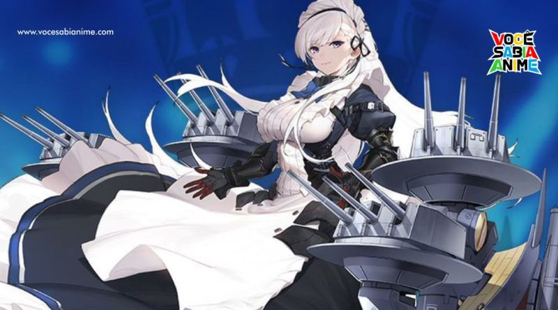Skin da Belfast pro 2º vol do BD de Azur Lane