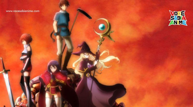 Anime de 100-man no Inochi no Ue ni Ore wa Tatteiru para Outubro