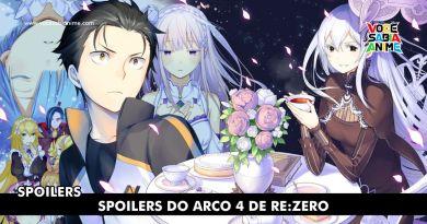 Spoilers Re:Zero Arco 4