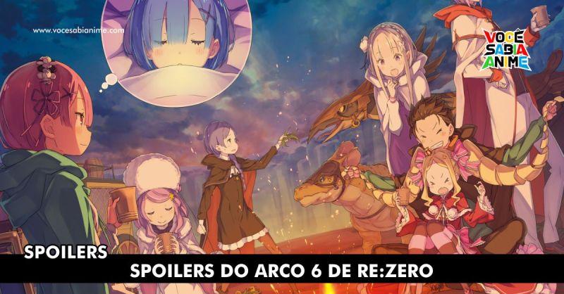 Spoilers Re:Zero Arco 6