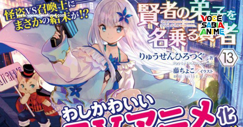 Anunciado Anime de Kenja no Deshi o Nanoru Kenja